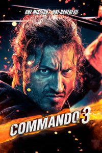 "Poster for the movie ""Commando 3"""
