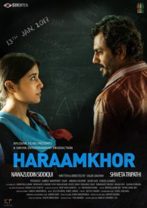 "Poster for the movie ""Haraamkhor"""
